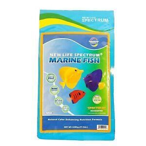 New Life Spectrum Marine Fish 2200 gram Bag 1-1.5mm Sinking Pellets