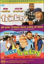 FRIDAY + NEXT FRIDAY (Ice CUBE Chris TUCKER Nia LONG Mike EPPS) COMEDY DVD Reg 4