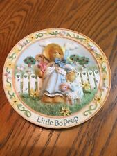 Cherished Teddies - Little Bo Peep - Nursery Rhymes Plate Collection