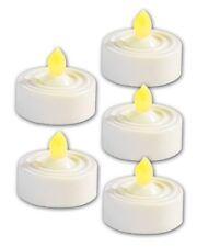 5 BOUGIES À LED STYLE CHAUFFE-PLAT - Lunartec