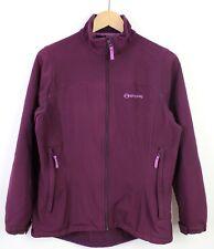 Sprayway Womens Soft-shell Pink Long Sleeve Outdoor Jacket 2776 Zip Up - UK 12