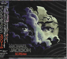 MICHAEL JACKSON - Scream - CD + Promo Poster - Sony Music - SICP-5700 - Japan