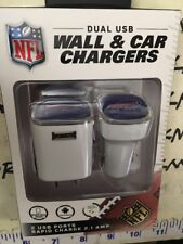Buffalo Bills Football  Car Home Charger USB Travel Phone Android APPLE iphone