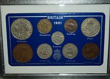 1951 Vintage Coin Set 67th Birthday Birth Year Present Wedding Anniversary Gift