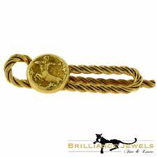 Vintage Van Cleef & Arpels Sagittarius Centaur Archery Money Clip in 18k Yellow