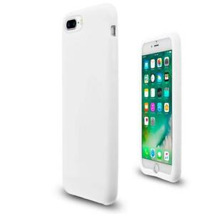 iPhone 7 / 8 case cover white rubber silicone protecting all corners & sides