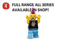 Lego minifigures punk rocker series 4 (8804) unopened new factory sealed