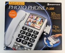 Ameriphone  P300 Amplified Photo Phone Amplified Big Button Picture Phone