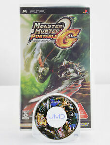 MONSTER HUNTER PORTABLE Freedom 2nd G & 3rd - PlayStation Portable Japan PSP MH