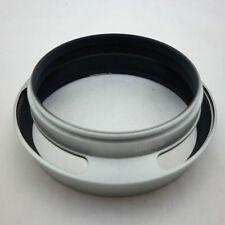 Paraluce in metallo argento 40,5 mm per Leica Leitz Canon Nikon Olympus Pentax