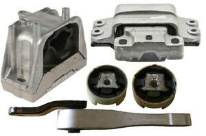 9MB901P 5pc Motor Mounts fit 2.5L Engine 2012 - 2014 Volkswagen Passat Automatic