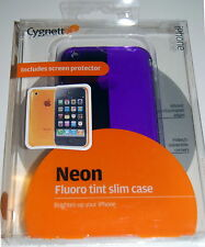 Cygnett iPhone 3G / 3GS Neon Fluro Tint Two Tone Slim Back Case Screen Protector