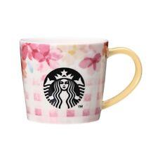STARBUCKS JAPAN  2018 SAKURA Mug cup 355ml pink plaid japanese F/S WITH BOX