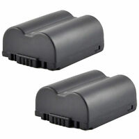 Two CGR-S006A Battery for Panasonic Lumix DMC-FZ18 FZ28 FZ8