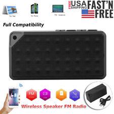Bluetooth Speaker Wireless Outdoor Stereo Bass Portable USB/TF/Aux/FM Radio New