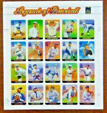 Scott #3408 $0.33 Legends of Baseball Mint Sheet  ( Face Value - $6.60 )