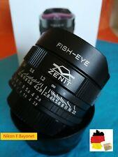 ⭐ objetivamente lens Zenitar f/2.8/16mm Fish Eye for Nikon F ⭐