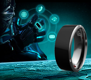 JAKCOM R3 NFC Technology Magic Smart Ring Black for Android IOS Windows Phone