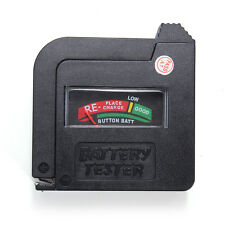 Foldable Universal Button Cell Battery Volt Tester Checker AAA/AA/C/D/1.5V/9V