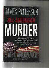 ALL-AMERICAN MURDER-JAMES PATTERSON/RISE & FALL OF AARON HERDANDEZ/HC/DJ