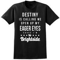 Killers Mr Brightside Inspired Lyrics T-shirt - Music Festival Glastonbury Tee
