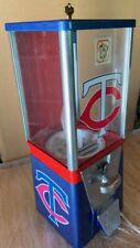 Vintage Older Oak Acorn Minnesota Twins Gumball Machine Super Cool