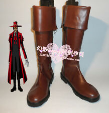 Hot! Hellsing Alucard Cosplay Boots Shoes Custom Made customize GG.42