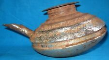 Indian Antique Hand Crafted Iron Kitchenware Water Pot