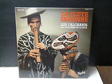 LOS CALKHAKIS avec GUILLERMO DE LA ROCA  La flute indienne volume 2 200139