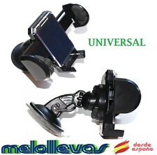 SOPORTE DE COCHE PARA MOVIL GPS PDA UNIVERSAL AJUSTABLE HOLDER 360 VENTOSA