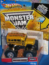 Hot Wheels Monster Jam Metal Mulisha # 36/80 1st ED 2011 Tatouage Avancé Auto