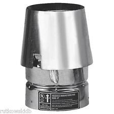 3-INCH SELKIRK VP Stainless Steel Pellet Pipe Stove Pipe Cap