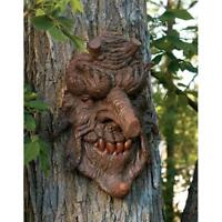 "Poison Oak Greenman Design Toscano Exclusive 14"" Tree Sculpture"