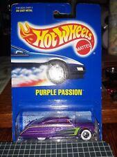 New Model Card 1991 Hot Wheels Purple Passion Col #87