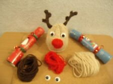 Reindeer Chocolate orange cover knitting pattern AND WOOL FOR  2 COVERS