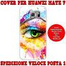 Cover case custodia protettiva in tpu per Huawei Mate 7 fantasia OCCHIO COLORATO