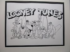 Looney Tunes  Characters  Surfing Boards  promo song Surfing USA Beach Boys