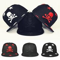 HOT Fashion Men Women Outdoor Skull Snapback Baseball Cap Adjustable Hip-Hop Hat
