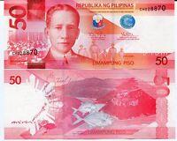 PHILIPPINES 50 PISO PESOS 2014 P 207 UNC