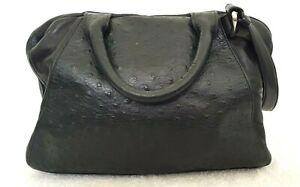 AND OTHER STORIES Ladies Medium Black Textured Leather Crossbody Bag EUC