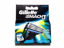 Mens Gillette MACH3 Refills Razor Blades - 4 Cartridges
