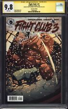 FIGHT CLUB 3 #1 (ECCC Variant) CGC 9.8 SS / Signed by Chuck Palahniuk & Cloonan!