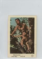 1950 1950s Dutch Gum Number in Circle #113 Weissmuller and Boy Johnny Card 0w6