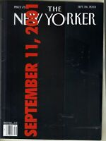 New Yorker September 11 2001 World Trade Center 9/11 Twin Towers 9/24/01
