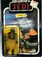 Star Wars ROTJ MOC Klaatu Figure 1983 65 back Nien Nunb mailer edition 1983