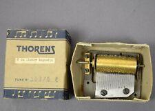 Altes Spielwerk THORENS f Spieluhr Weihnachtsbaumständer Uhr music box automaton