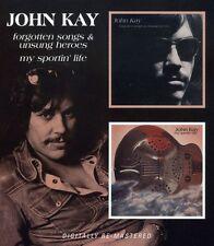 John Kay - Forgotten Songs & Unsung Heroes / My Sportin Life [New CD] Rmst