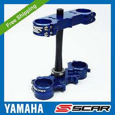 TRIPLE CLAMPS YAMAHA YZ250F YZ450F YZF 250 450 2016 2017 2018 2019 BLUE SCAR