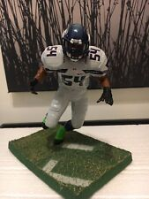 BOBBY WAGNER CUSTOM MCFARLANE FIGURE IN SEATTLE SEAHAWK GREY UNIFORM