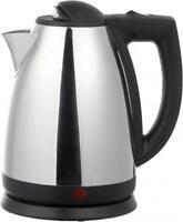 Brentwood 2 Liter Stainless Steel Tea Kettle - 1000 W - 2.11 Quart - Brushed
